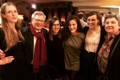 Our fellows and Lénaïc's parents enjoyed the Press Revue event 2019 in Brussels.