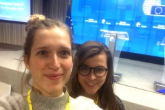 Eline and Zosia both covered a European Council in winter 2018.