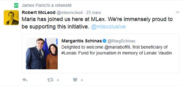 tweet MLex Maria B